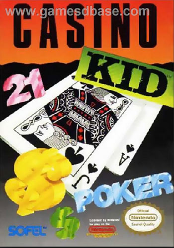 Casino Kid for NES front cover