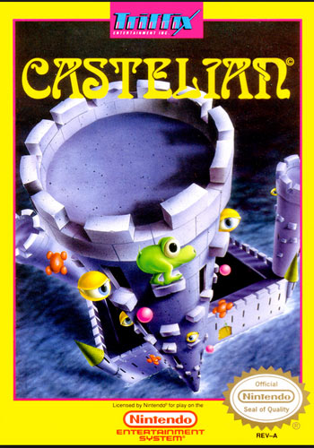 Castelian for NES front cover