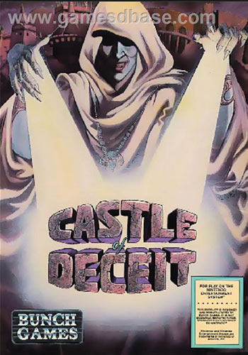 Castle of Deceit for NES front cover