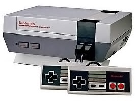 NES game console