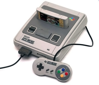 Game console Super Nintendo